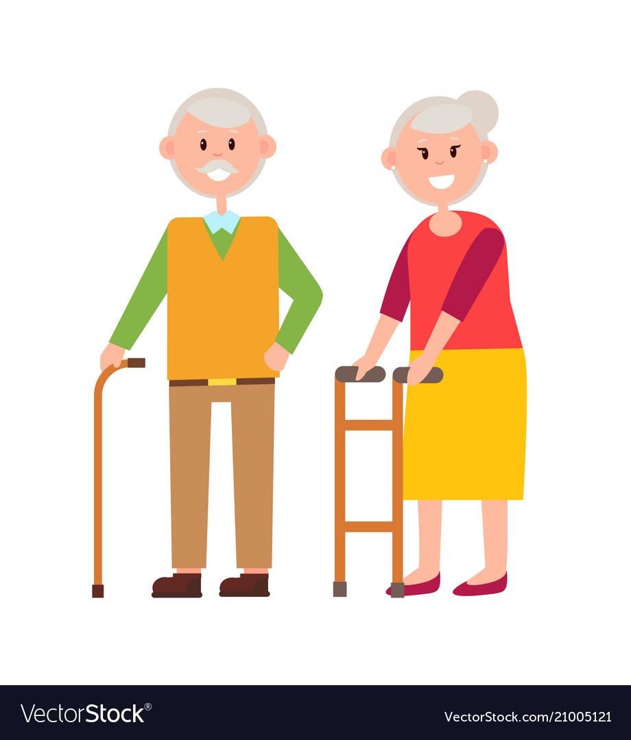 Cute grandparents picture
