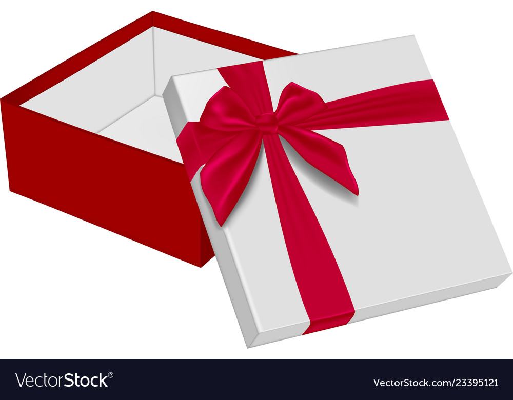 Open gift box with red ray light - Download Free Vectors, Clipart Graphics  & Vector Art