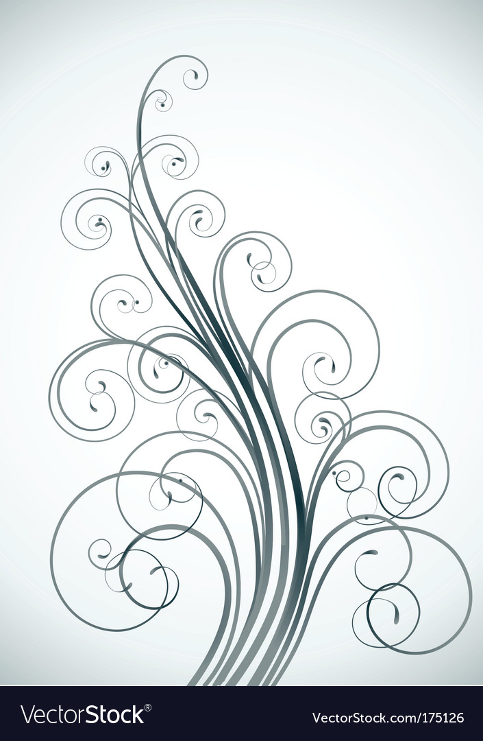 Floral decorative background