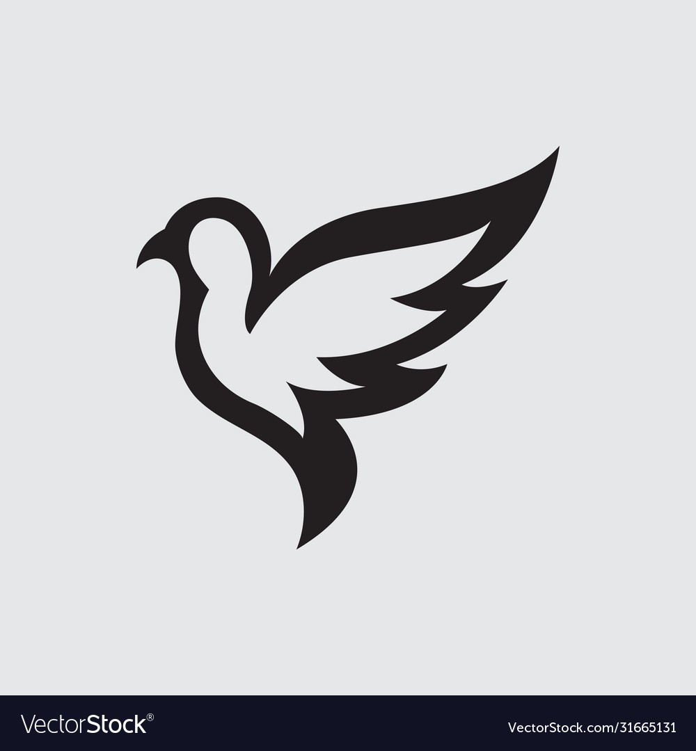 Bird logo icon design