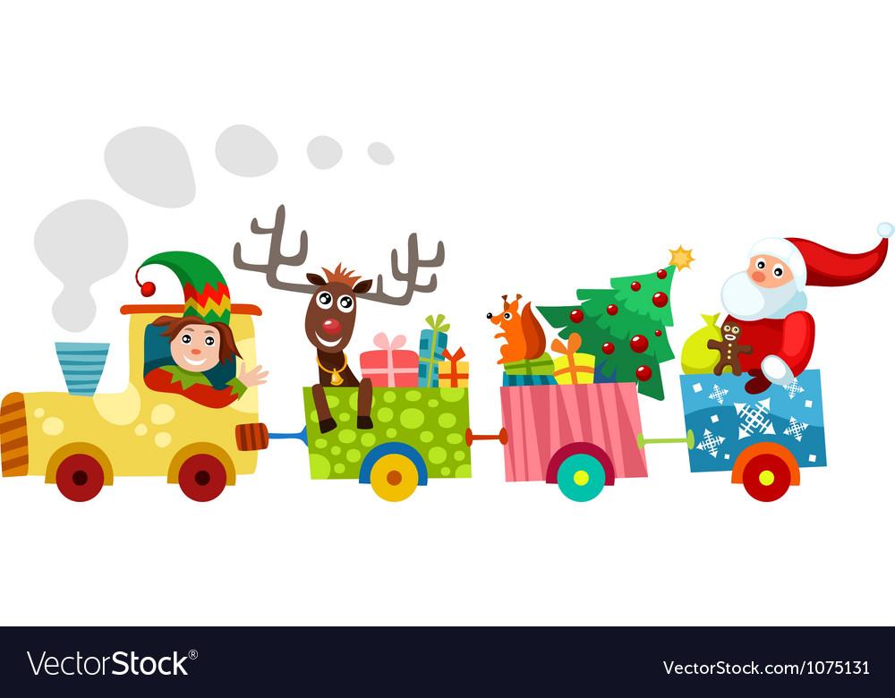 Christmas Train.Christmas Train