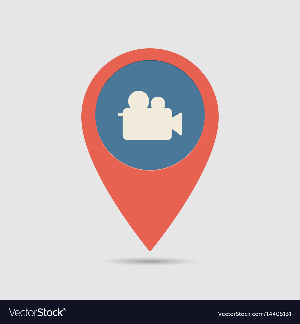 Map pin cinema