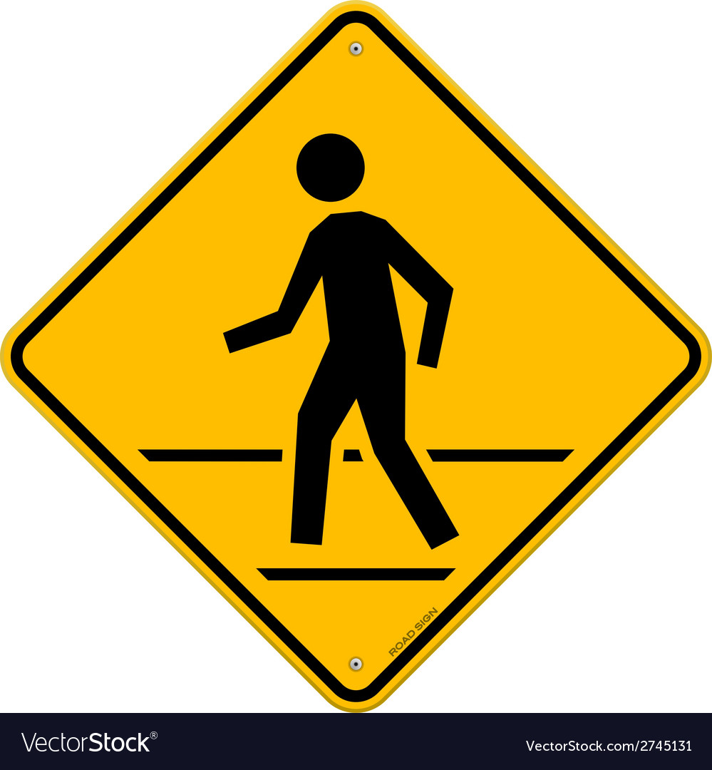 Pedestrian Traffic Sign