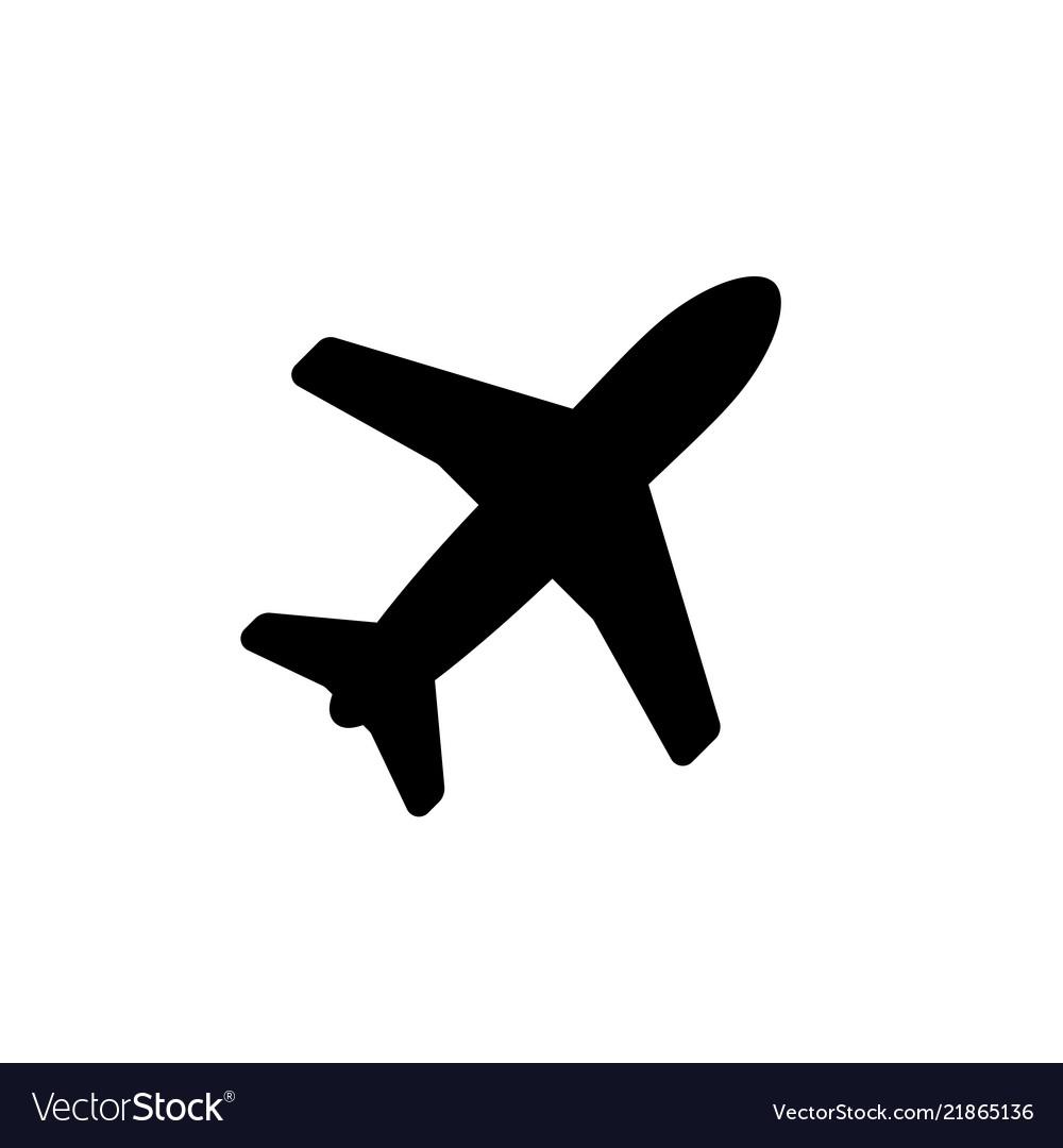 Aircraft Icon Royalty Free Vector Image Vectorstock
