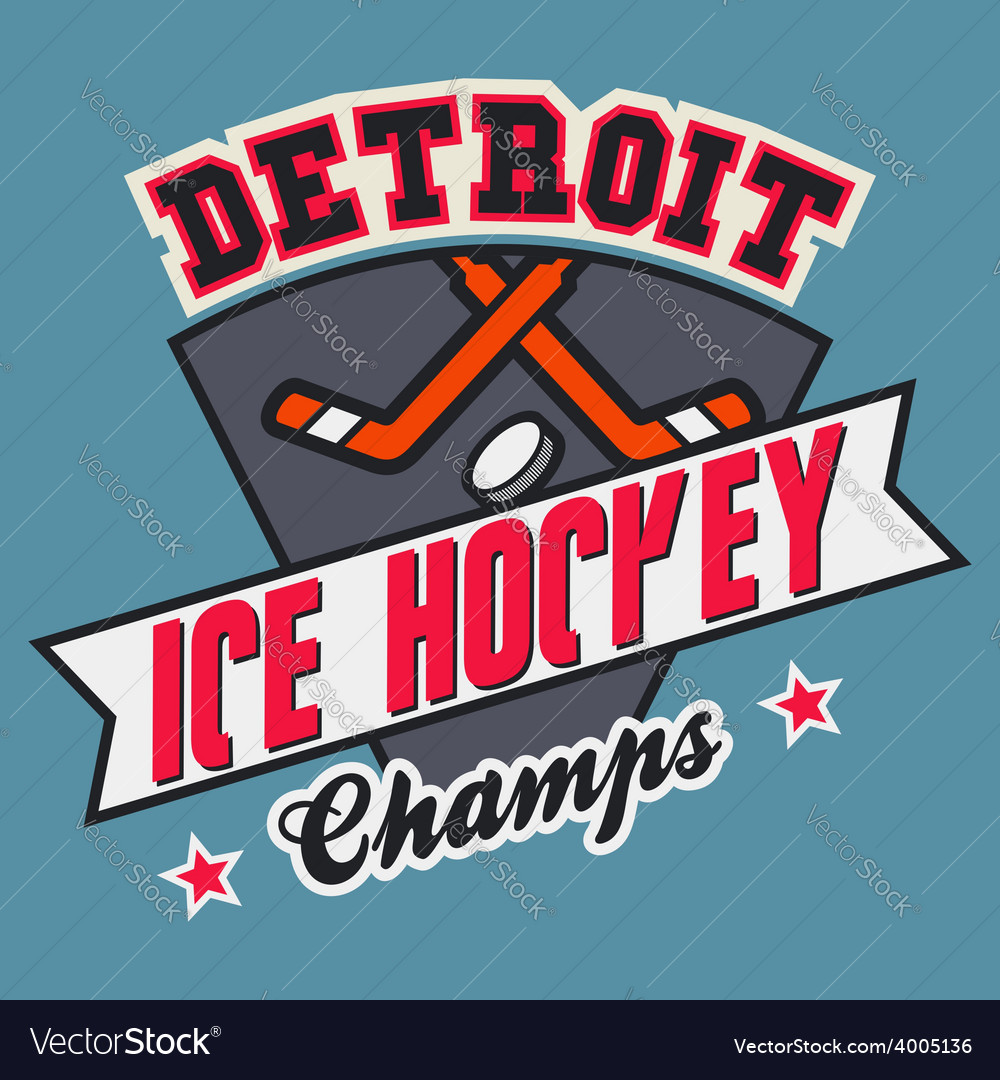 Detroit ice hockey champs
