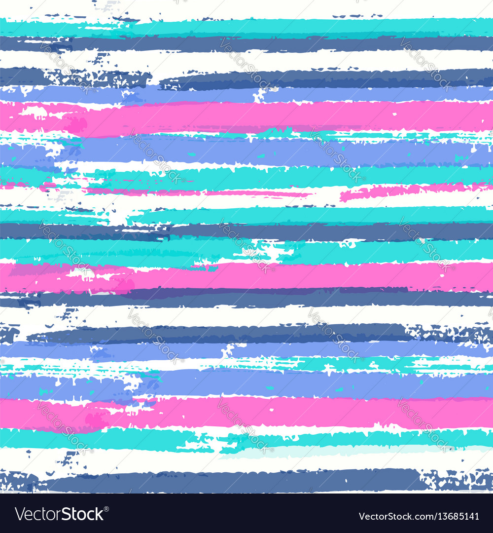 Seamless pattern with vibrant colors paint stripes