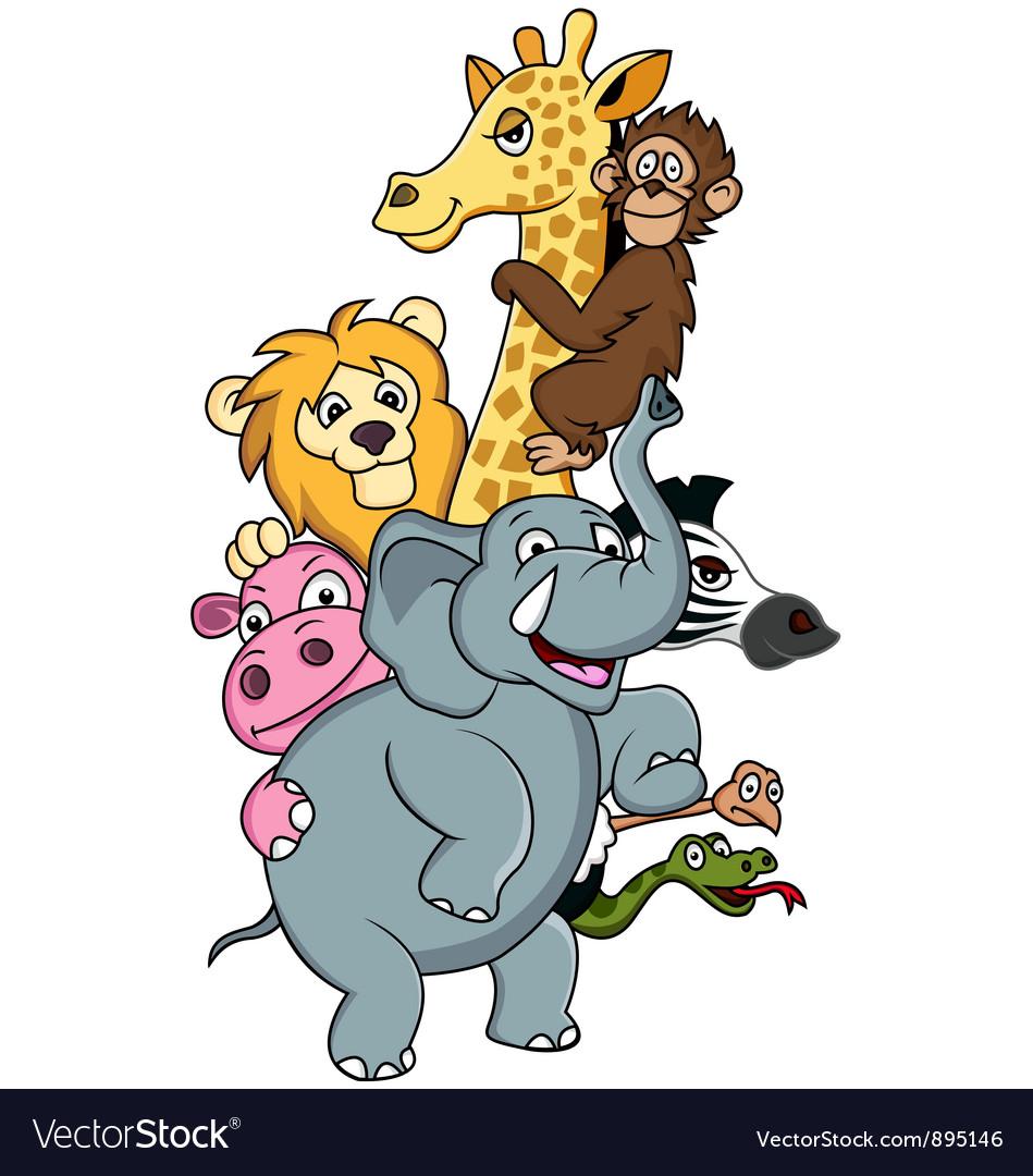Funni animal cartoon