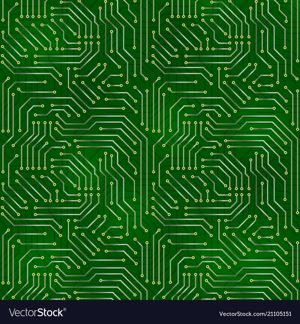 Computer Motherboard Background Royalty Free Vector Image Code And Circuit Board Illustration
