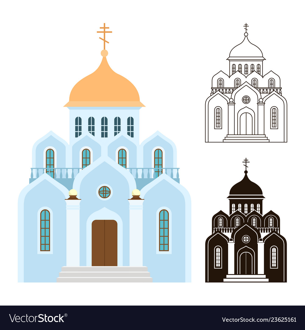Orthodox churches icons religion buildings