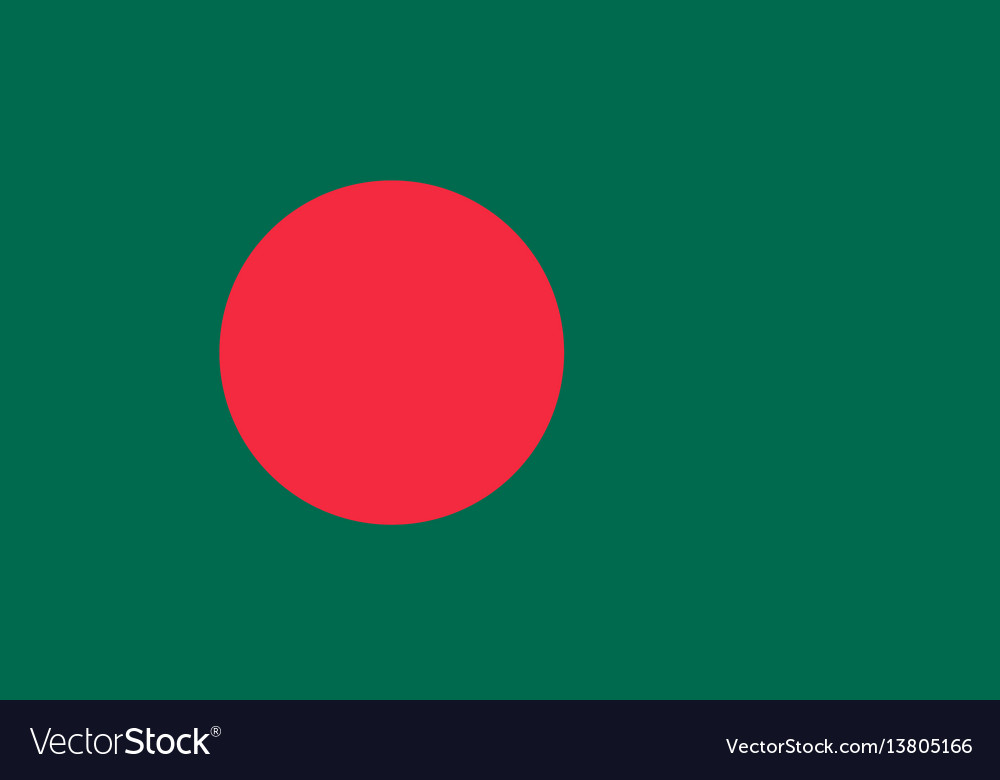 Bangladesh flag for independence day and vector image