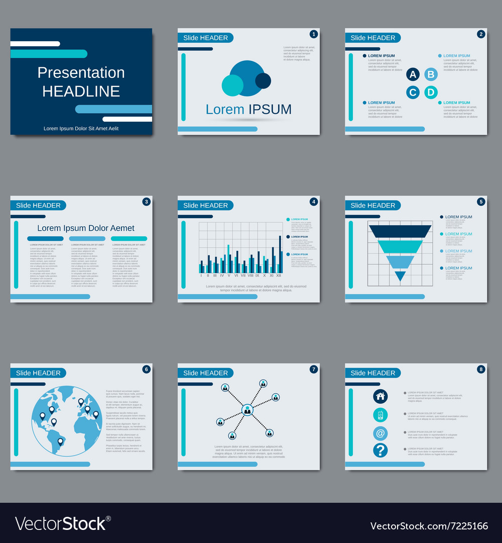 Presentation design template