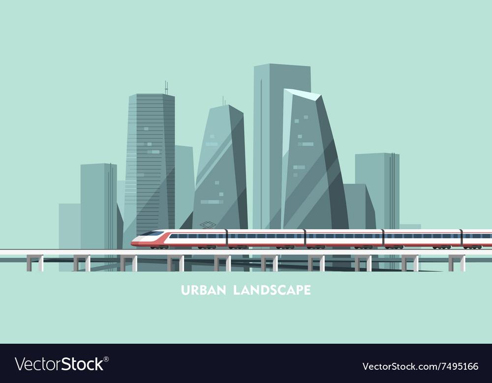 Urban Landscape Cityscape Background