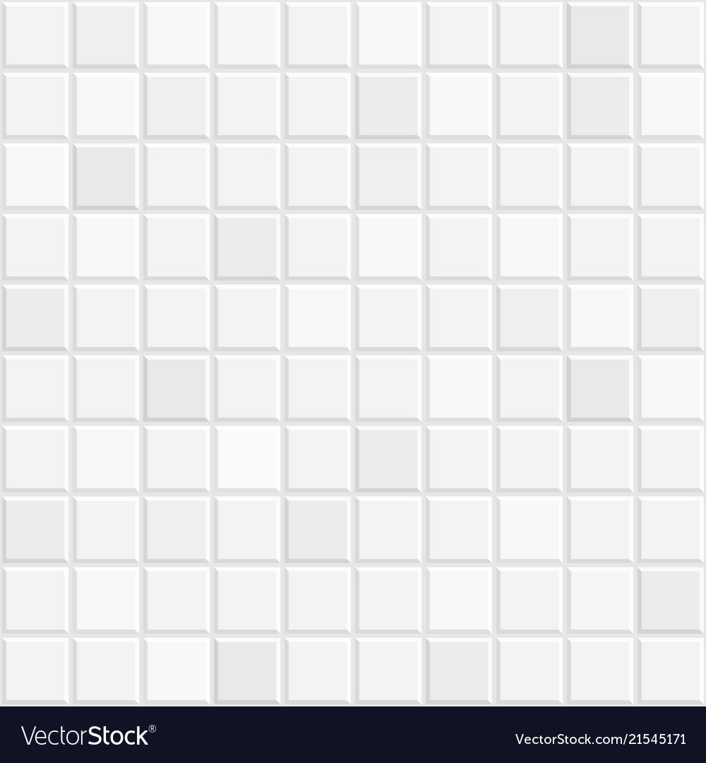 White Tiles Texture Royalty Free Vector Image Vectorstock