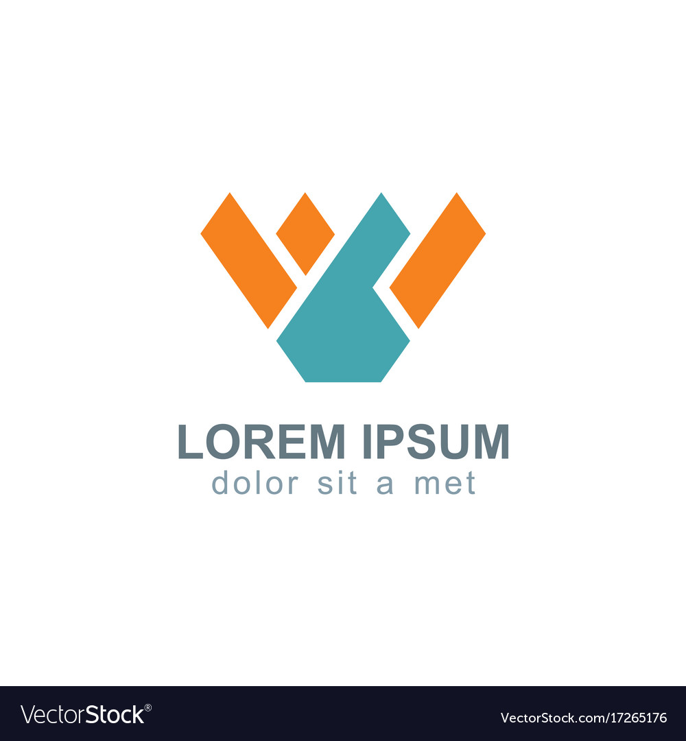 Business letter w logo