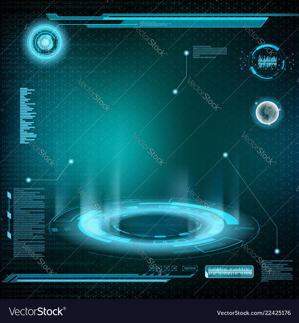 Design of hud menu user interface