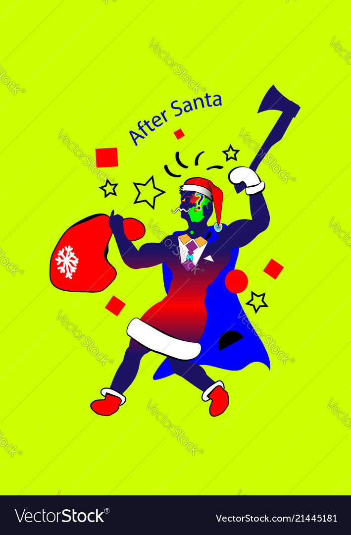 New art-banner santa claus cartoon santa claus
