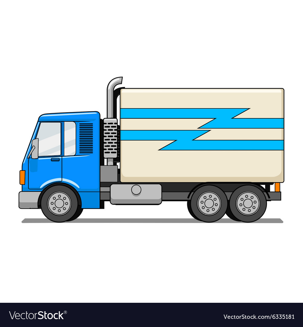 Truck cartoon Royalty Free Vector Image - VectorStock