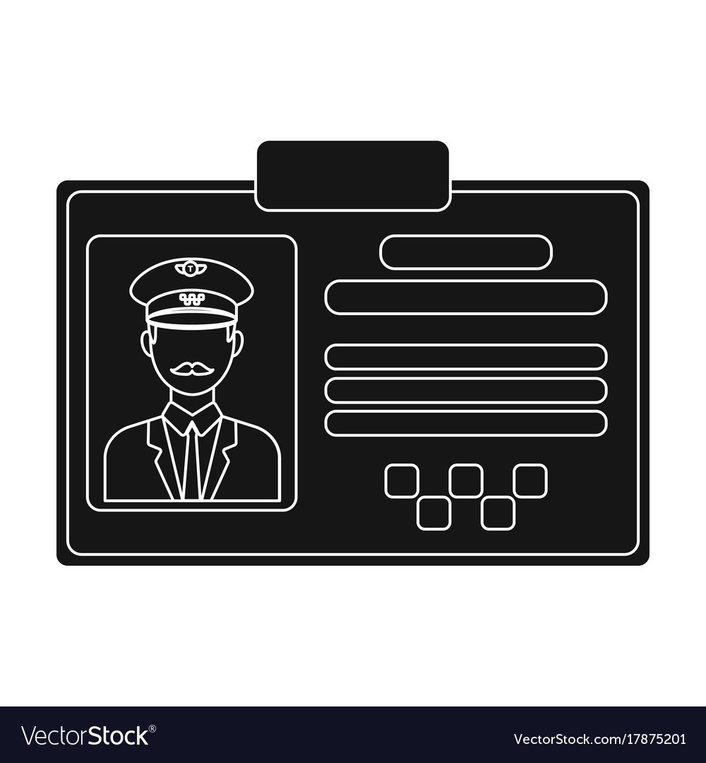 Driver document taxiplastik card taxi driver with