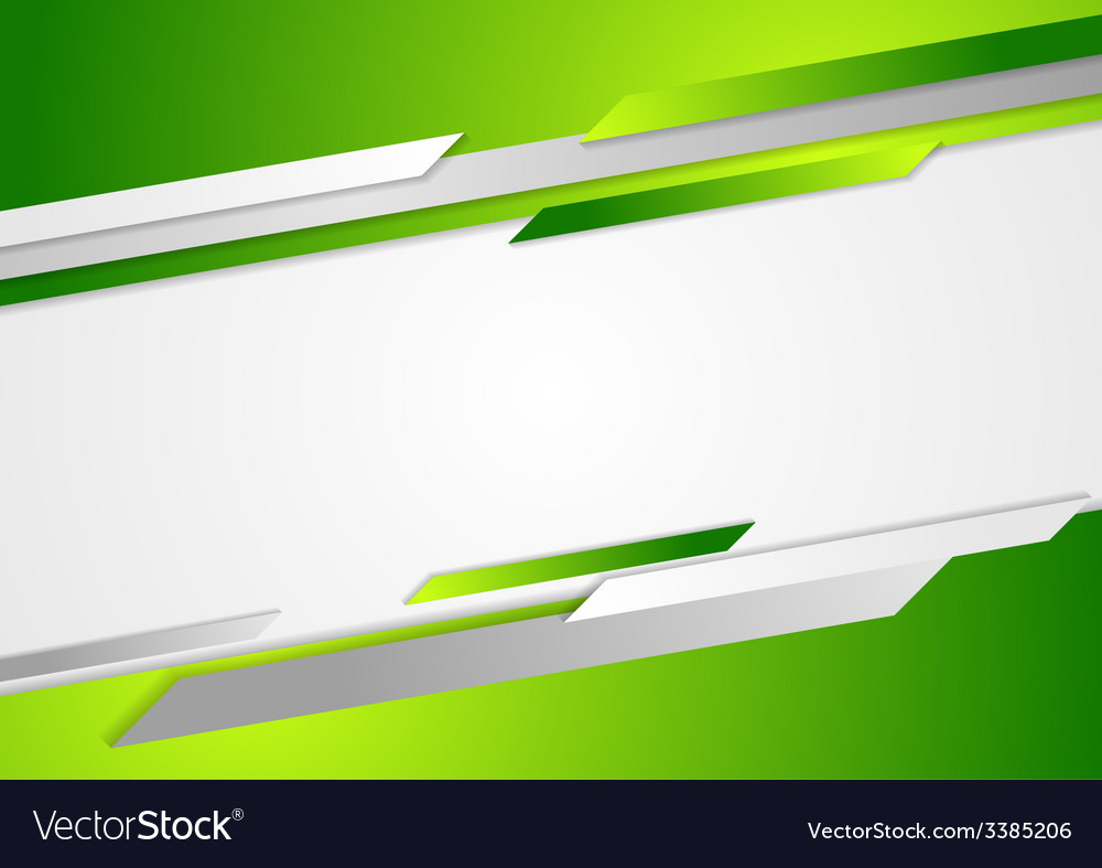 Abstract Green Corporate Background