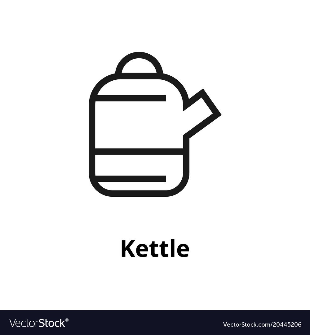 Kettle line icon