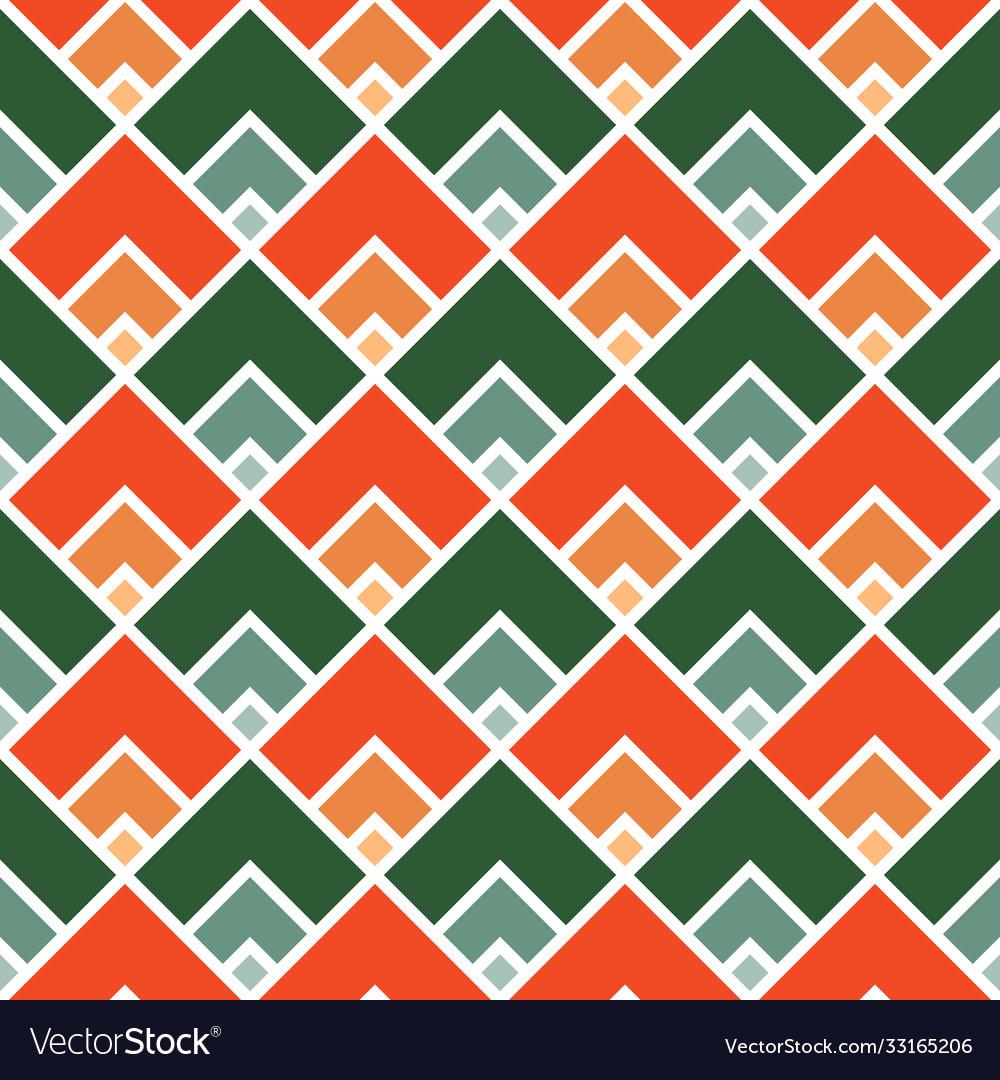 Seamless abstract geometric pattern modern
