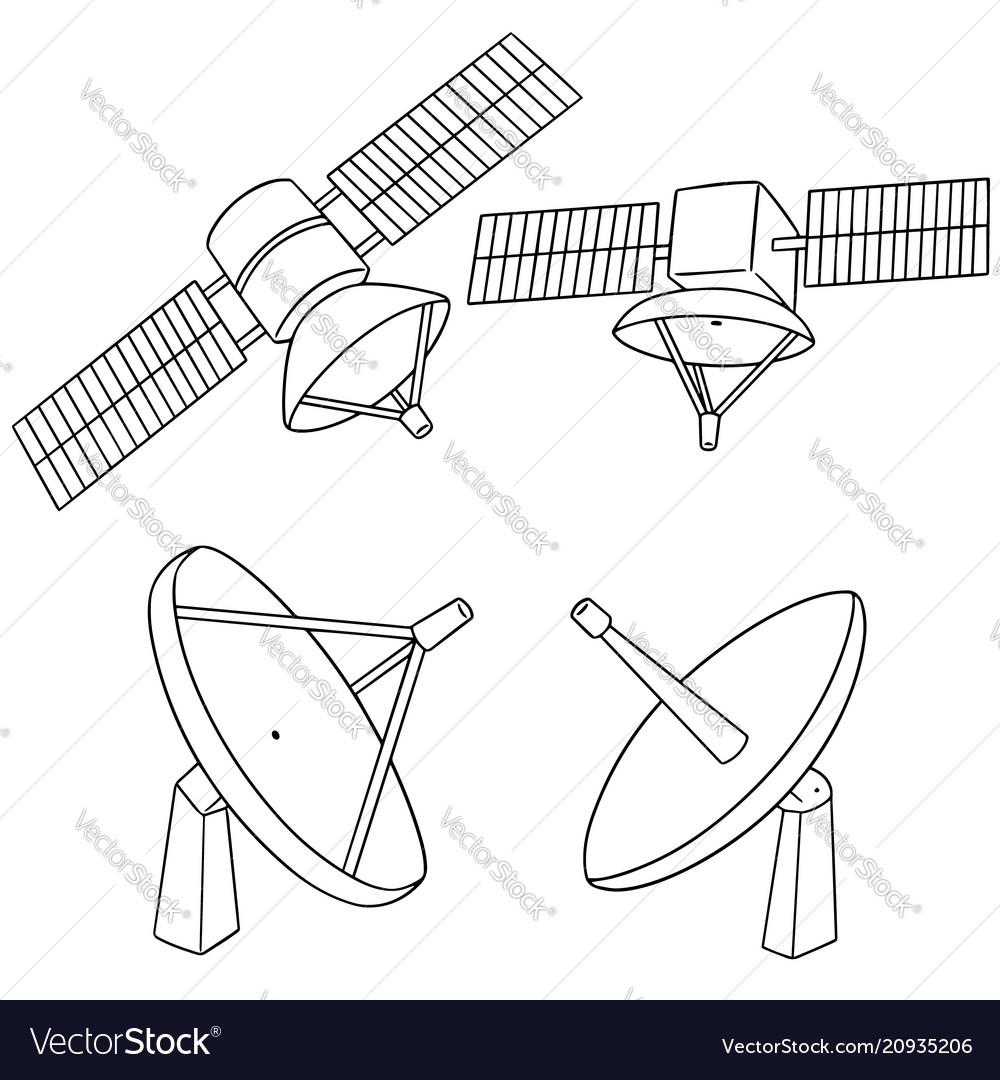 Set of satellite