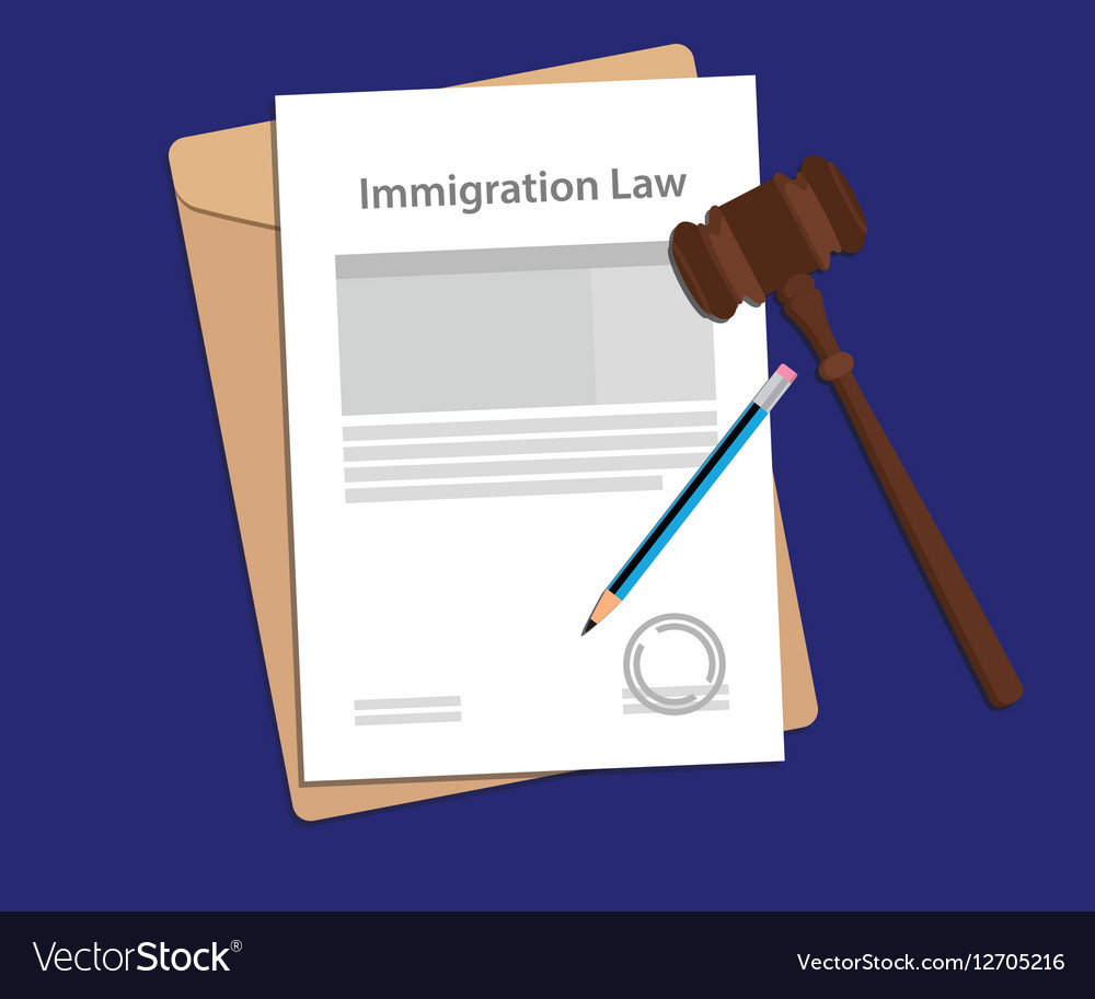 Legal concept of immigration law