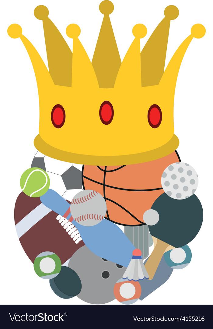 Royal sport vector image