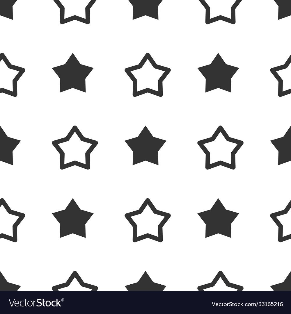 Seamless star pattern stars background black and