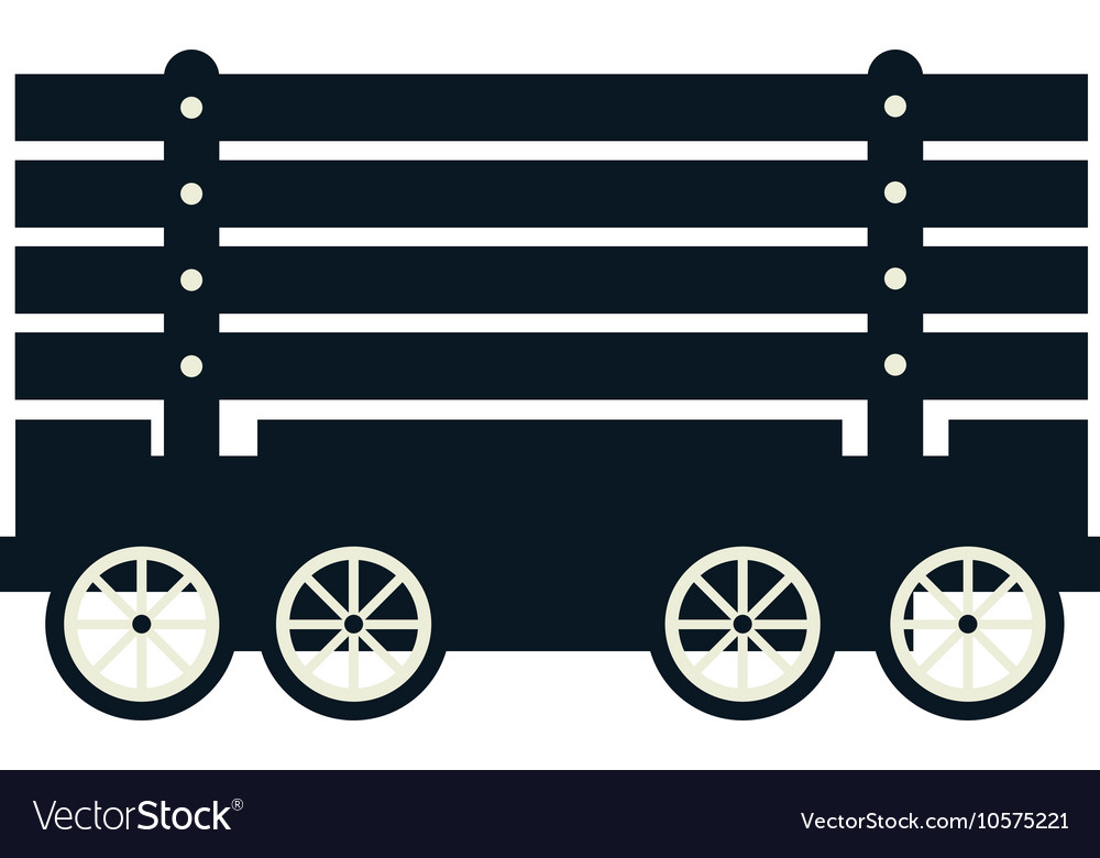 Cargo wagon train