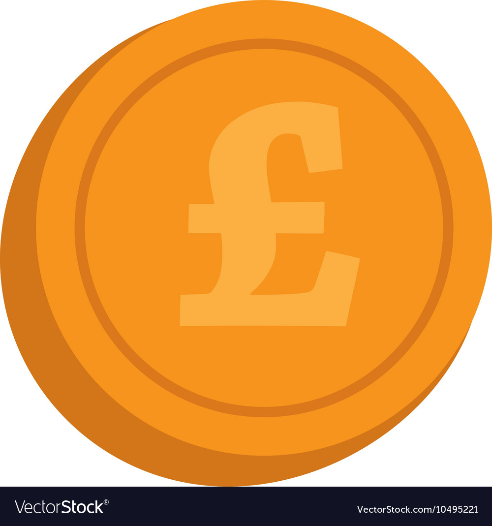 Currency lira coin money isolated