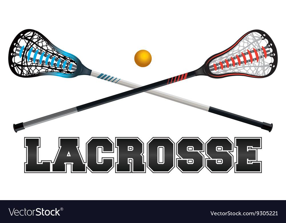 Lacrosse Word Art