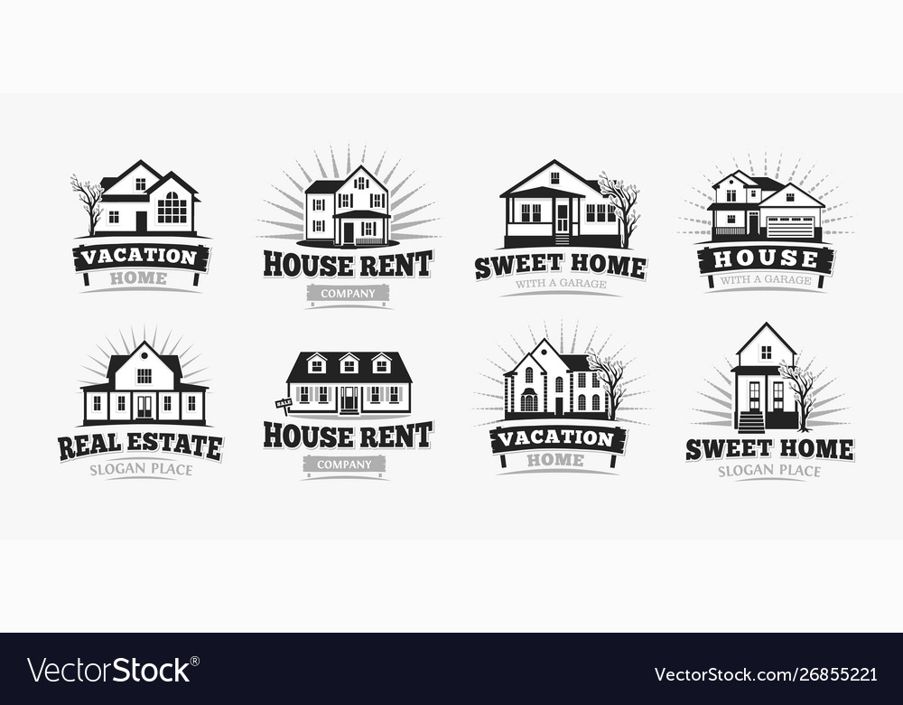 Villas icons classic american village house