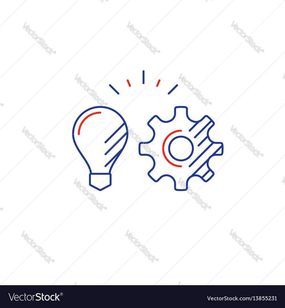 Business strategy concept new technology vector image