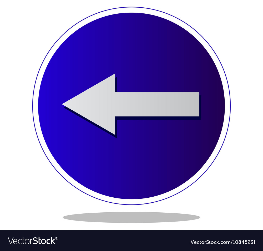 Mandatory direction to the left