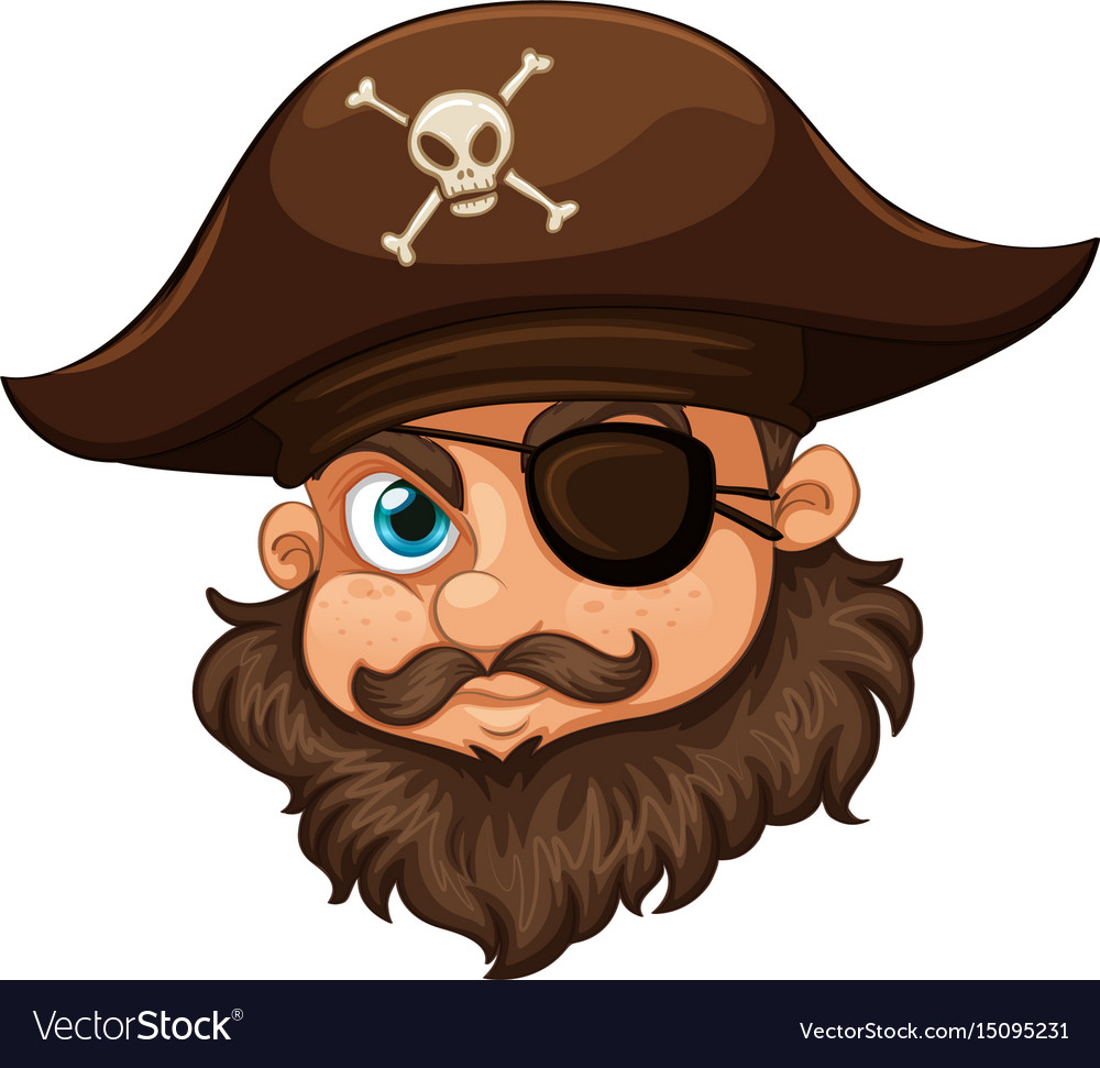 BROWN PIRATE HAT AND EYEPATCH