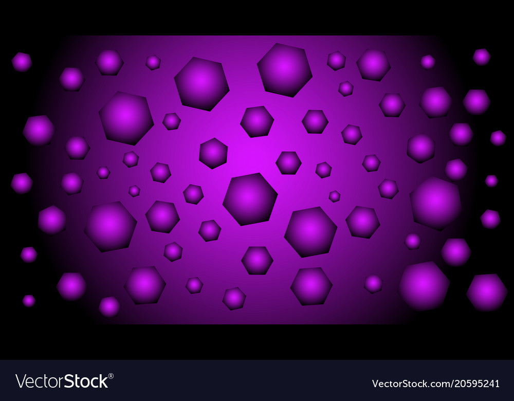 Black And Purple Background With Geometric Figures