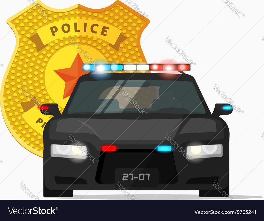 Police car cop auto urban