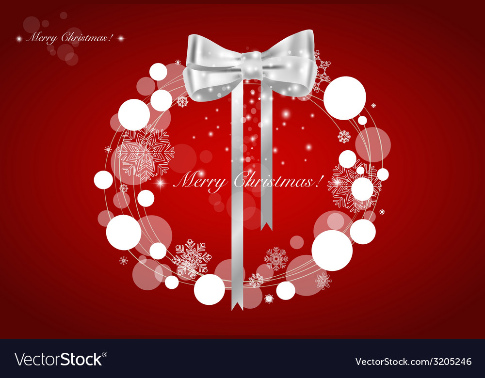 Abstract Christmas background with Christmas