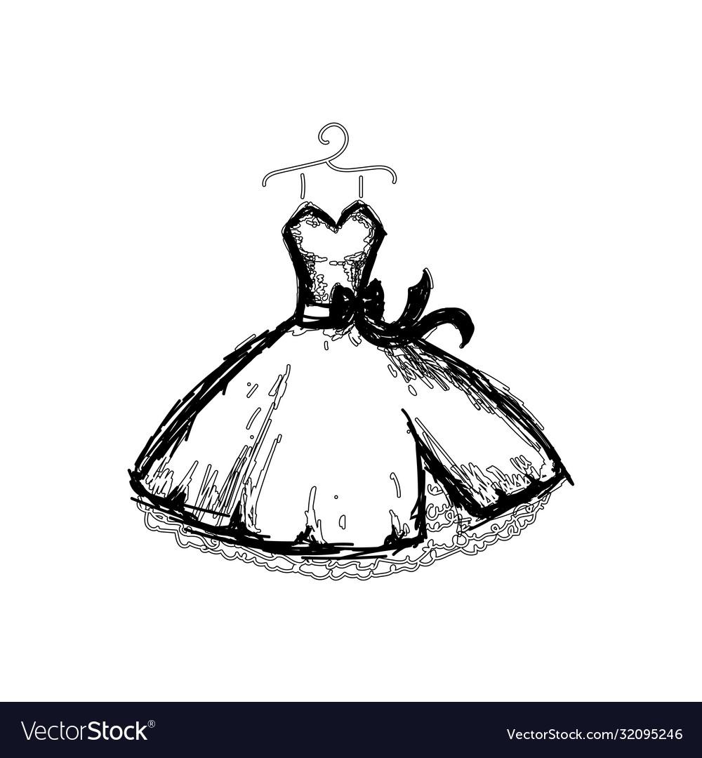 Beautiful dress line