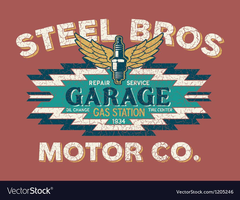 Motor company vintage sign