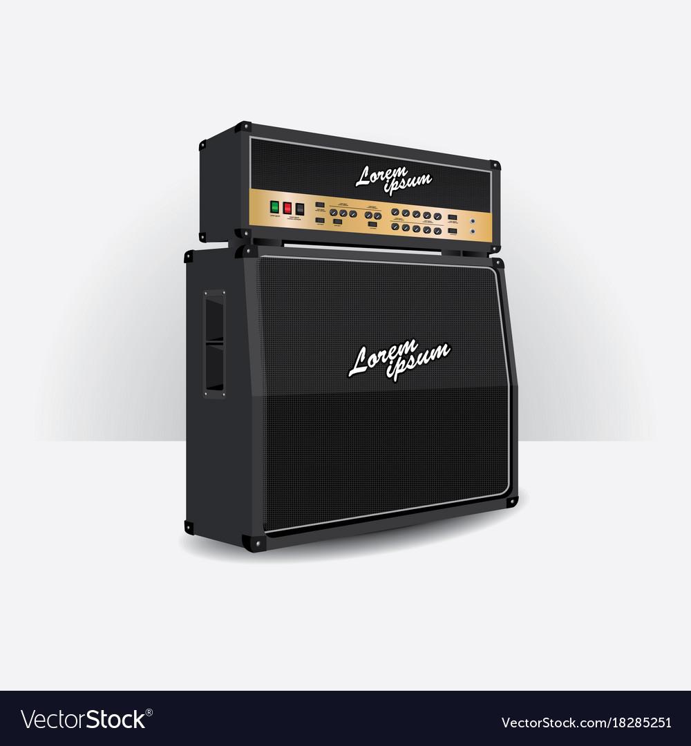 Guitar amplifier set