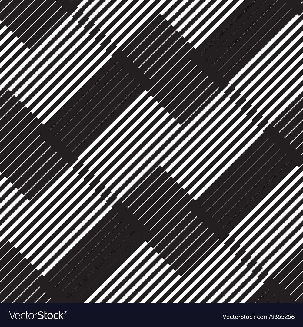 Black and white stripe geometric vintage design