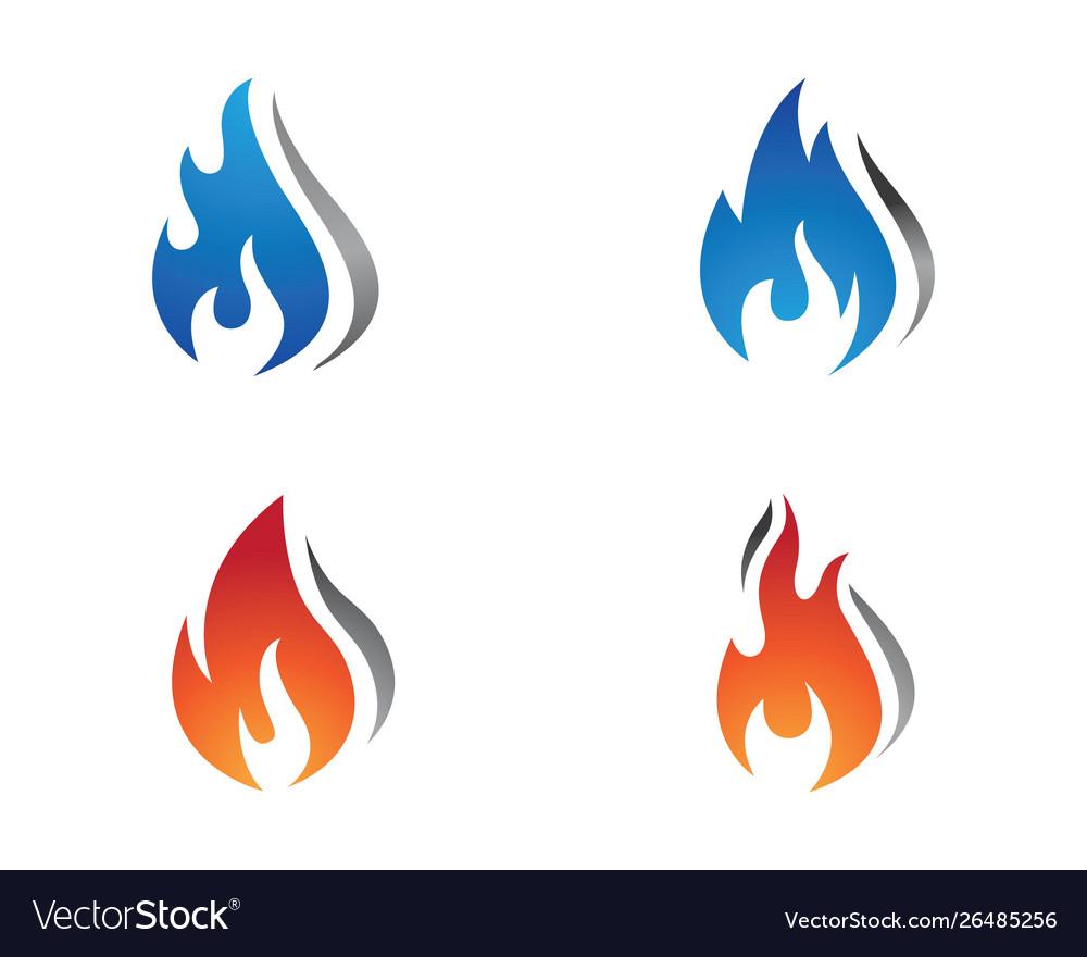 Fire flame icon design