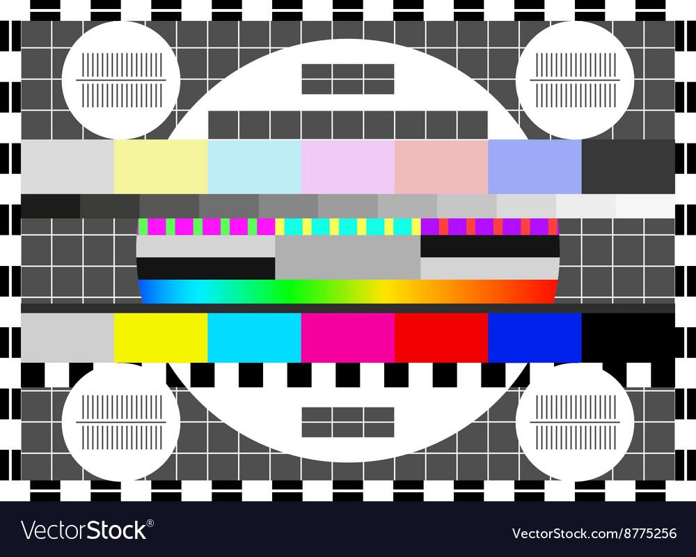 Glitch error signal Loss of the television signal