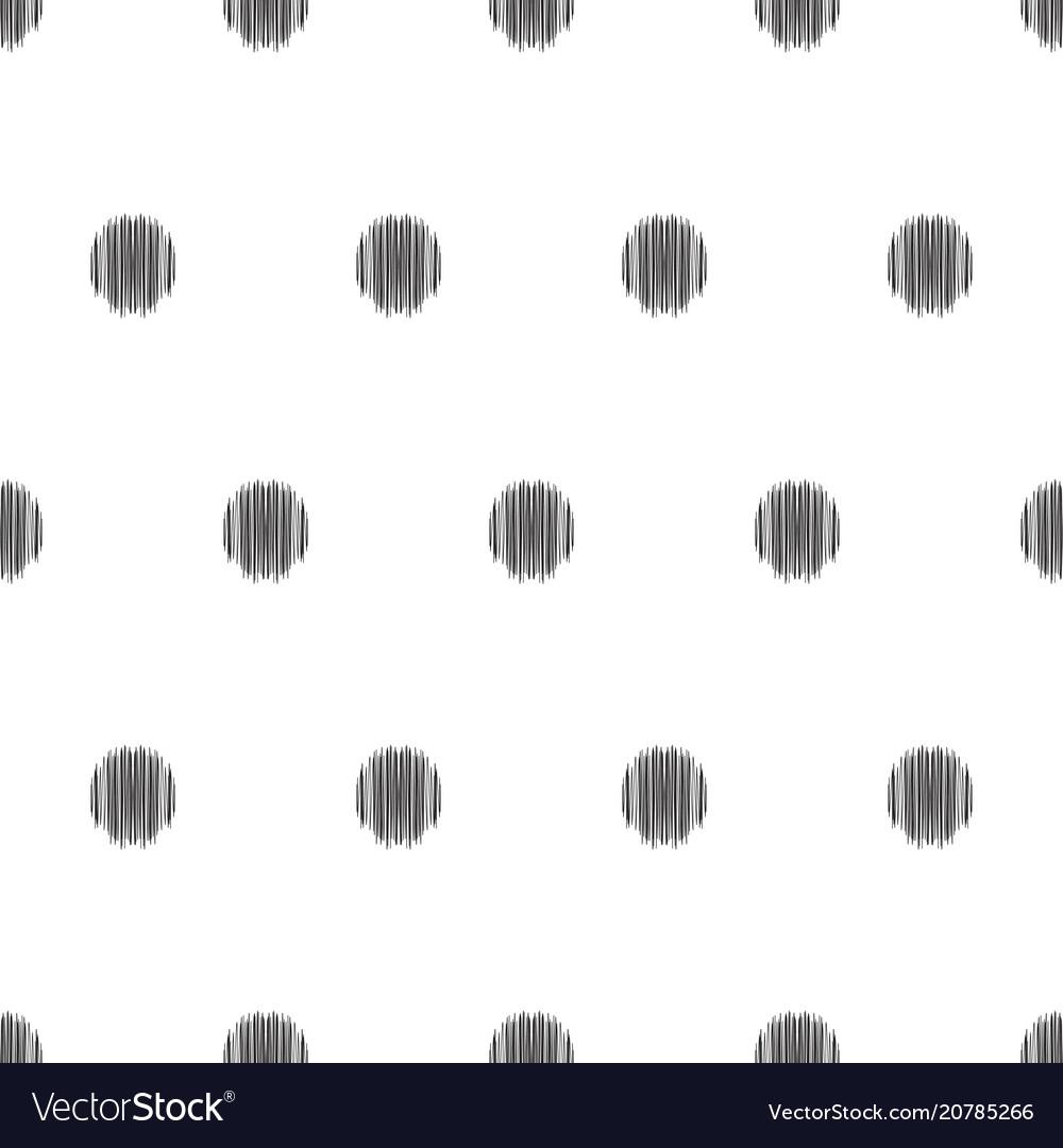 Seamless geometric pattern in ikat fabric style
