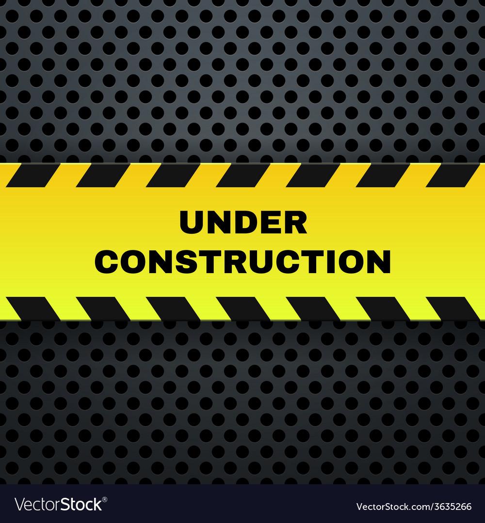 Under Construction Banner