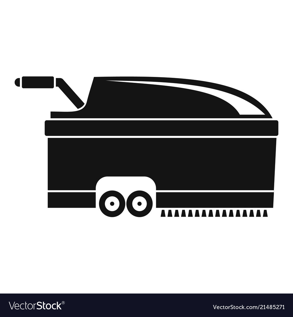 Hall vacuum cleaner icon simple style