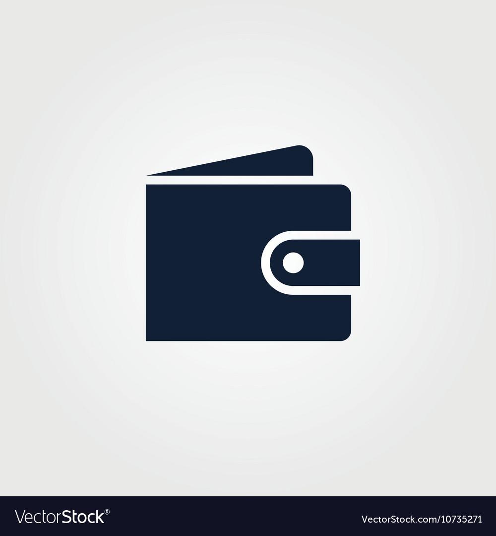Wallet icon simple