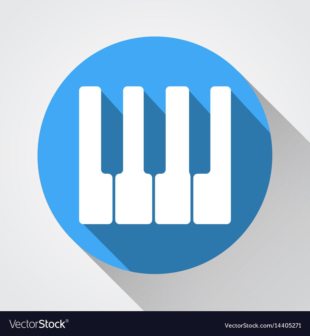 White piano keys icon white piano keys icon